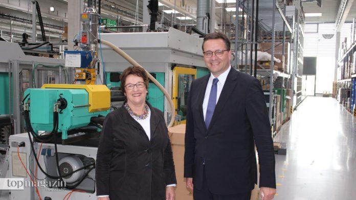 Dr. Andreas Ritzenhoff mit Bundeswirtschaftsministerin a.D. Brigitte Zypries in Marburg