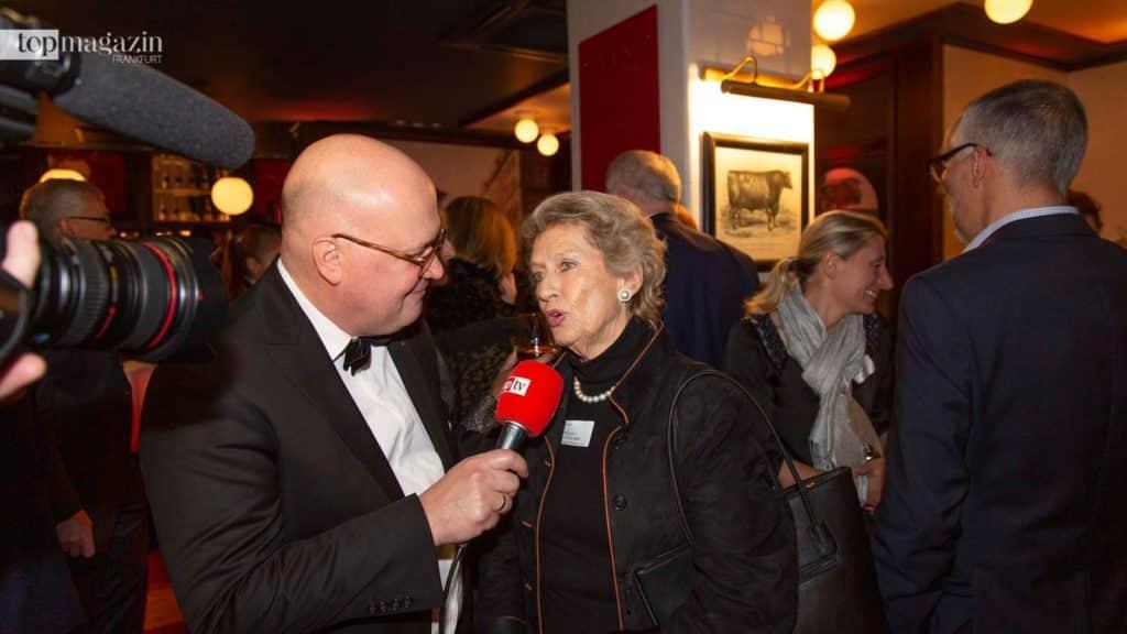 Achim Winter (Top Magazin) im Interview mit Ehrenbürgerin und Oberbürgermeisterin a.D Dr. h.c. Petra Roth