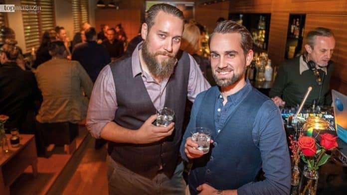 Bar-Chef Robert Sieber und Sullivan-Mitinhaber Christian Weber