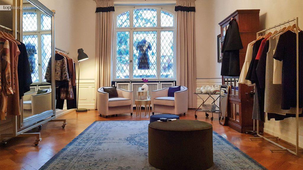 Das Atelier der Frankfurter Designerin Lili Maras auf der Schweizer Straße