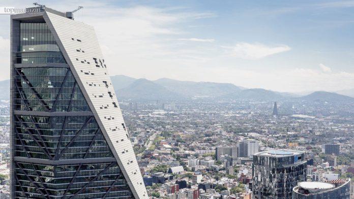 Der Gewinner des Internationalen Hochhauspreises - Das Bürogebäude Torre Reforma, entworfen von L. Benjamin Romano