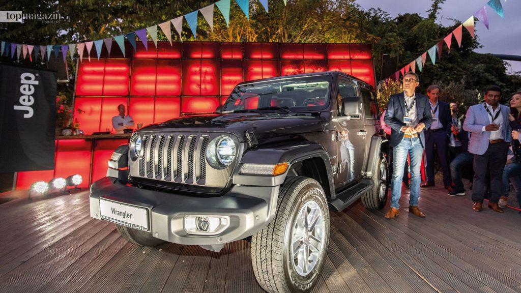 Der Jeep Wrangler JL