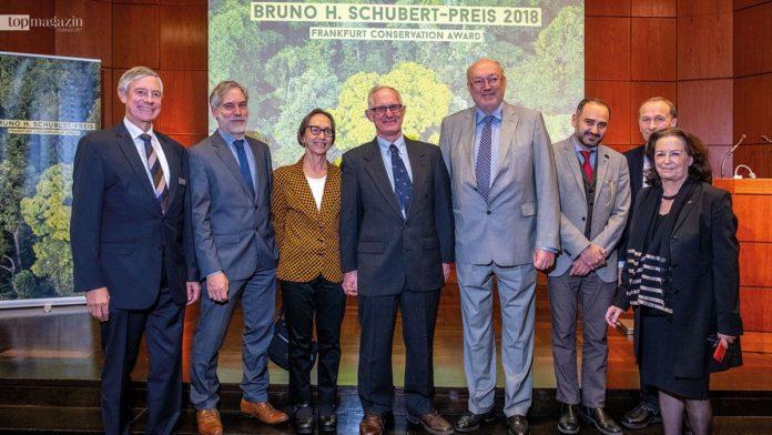 Dr. Alfred Lütkenhaus, Dr. Christoph Schenck, Dr. Terese Hart und Dr. John Hart, Prof. Dr. Manfred Niekisch, Ruben Khachatryan, Michael Kunkel und Gabriele Eick