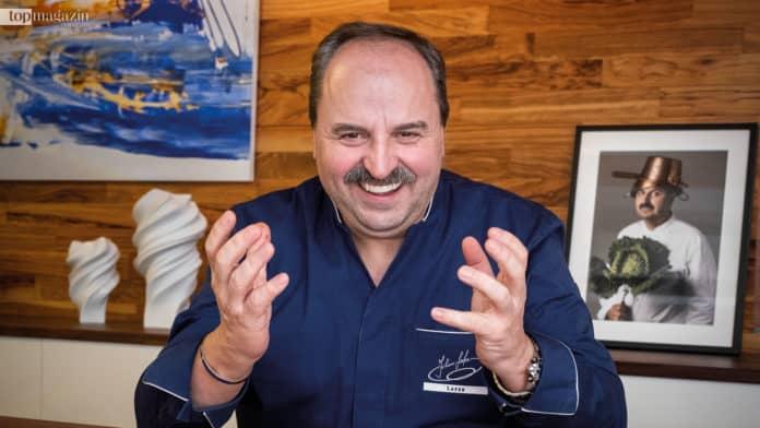 Johann Lafer gehört zu den besten Köchen Deutschlands