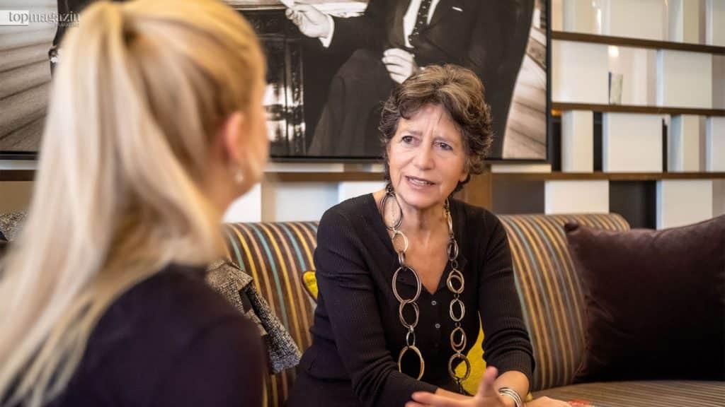 Johanna Müdicken im Interview mit Olga Polizzi