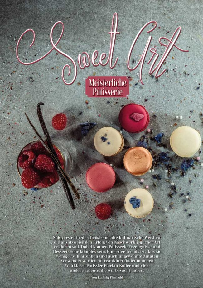 Patisserie, Top Magazin Frankfurt, Ausgabe Winter 2018