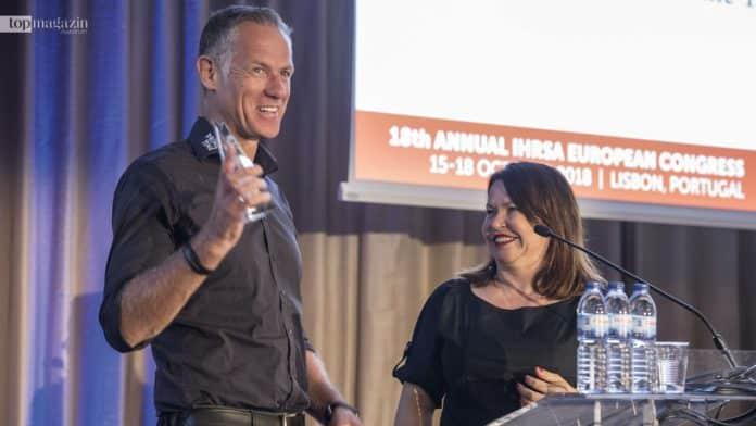 Prime Time Fitness-Gründer Henrik Gockel freut sich über den European Club Leadership Award 2018
