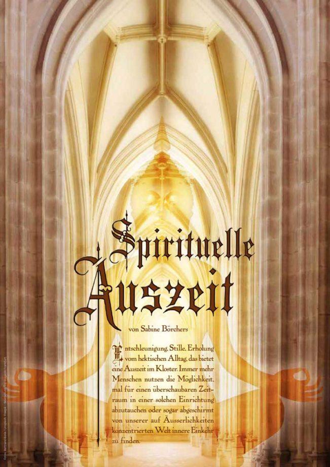 Spirituelle Auszeit, Top Magazin Frankfurt, Ausgabe Winter 2018