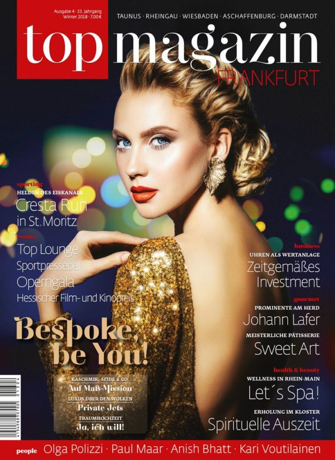 Top Magazin Frankfurt Ausgabe Winter 2018