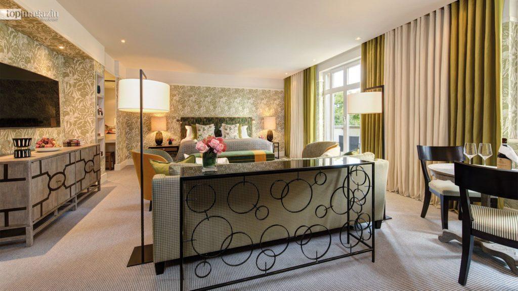 Zuletzt war Olga Polizzi für das komplette Interior Design der Frankfurter Villa Kennedy verantwortlich