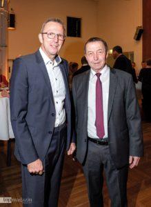 Ovag-Vorstände Joachim Arnold und Rainer Schwarz