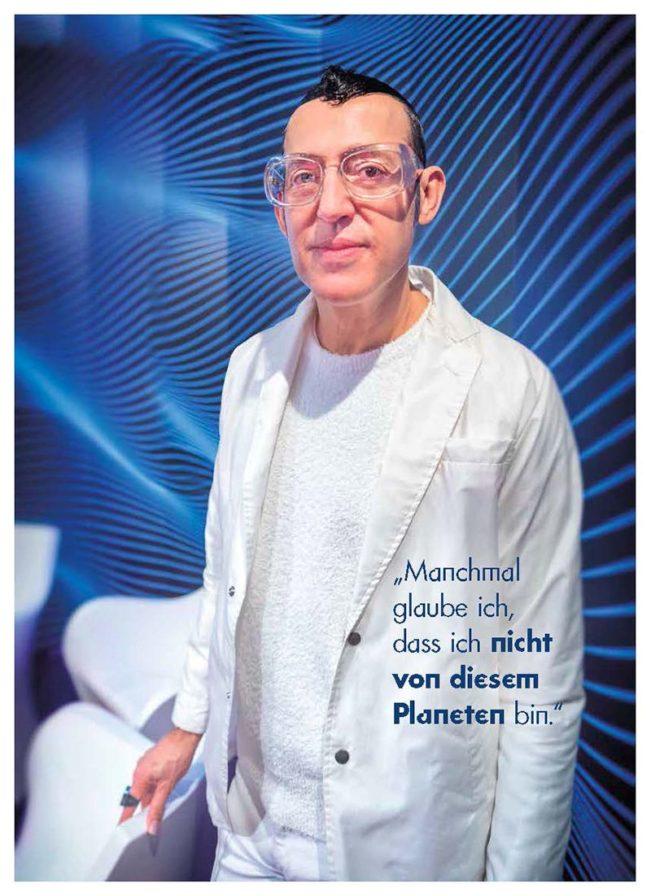 Karim Rashid, Top Magazin Frankfurt, Ausgabe Frühjahr 2019