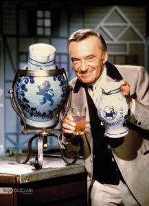 """Heinz Schenk wurde einem Millionenpublikum durch seine Fernsehshow """"Zum Blauen Bock"""" bekannt, die er bis 1987 moderierte."""