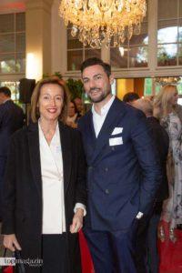 Kristina Gräfin Pilati (Pilati + Partner Rechtsanwälte) und Dr. med. Leonard Nenad Josipovic (Rosenpark Klinik)