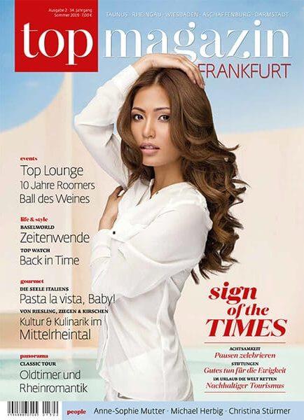 Top Magazin Frankfurt Ausgabe Sommer 2019