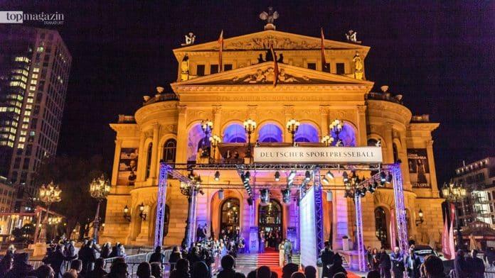 Glamouröser Rahmen für den Deutschen Sportpresseball: Die Alte Oper Frankfurt
