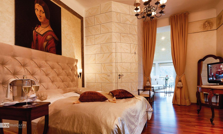 """Das """"Da Vinci""""-Zimmer im Parkhotel in Bad Salzig"""