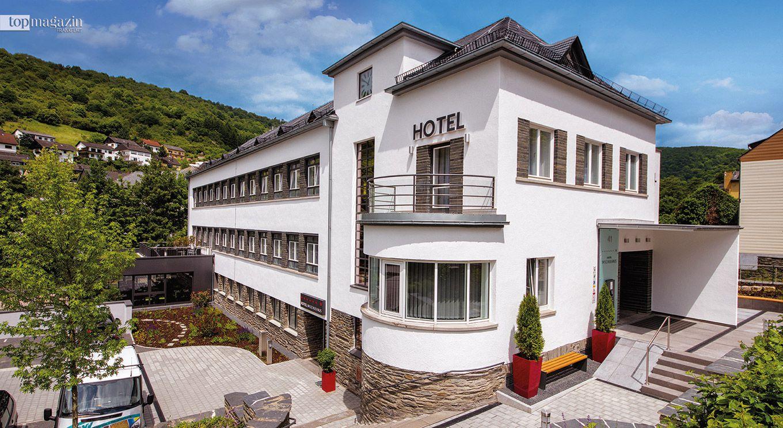 """Das """"Hotel im Schulhaus"""" in Lorch (Foto Haberland)"""