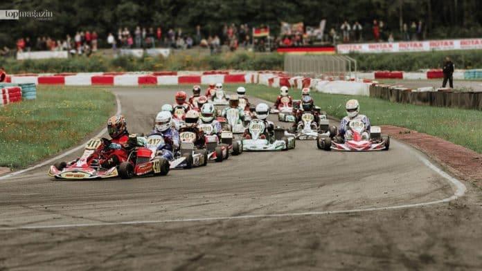 Die Rennstrecke des Michael Schumacher Kart und Event–Center in Kerpen