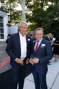 Fraport-Chef Dr. Stefan Schulte mit dem FraSpa-Chef Robert Restani