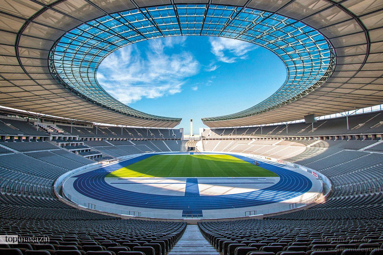 Innenansicht vom Olympiastadion Berlin