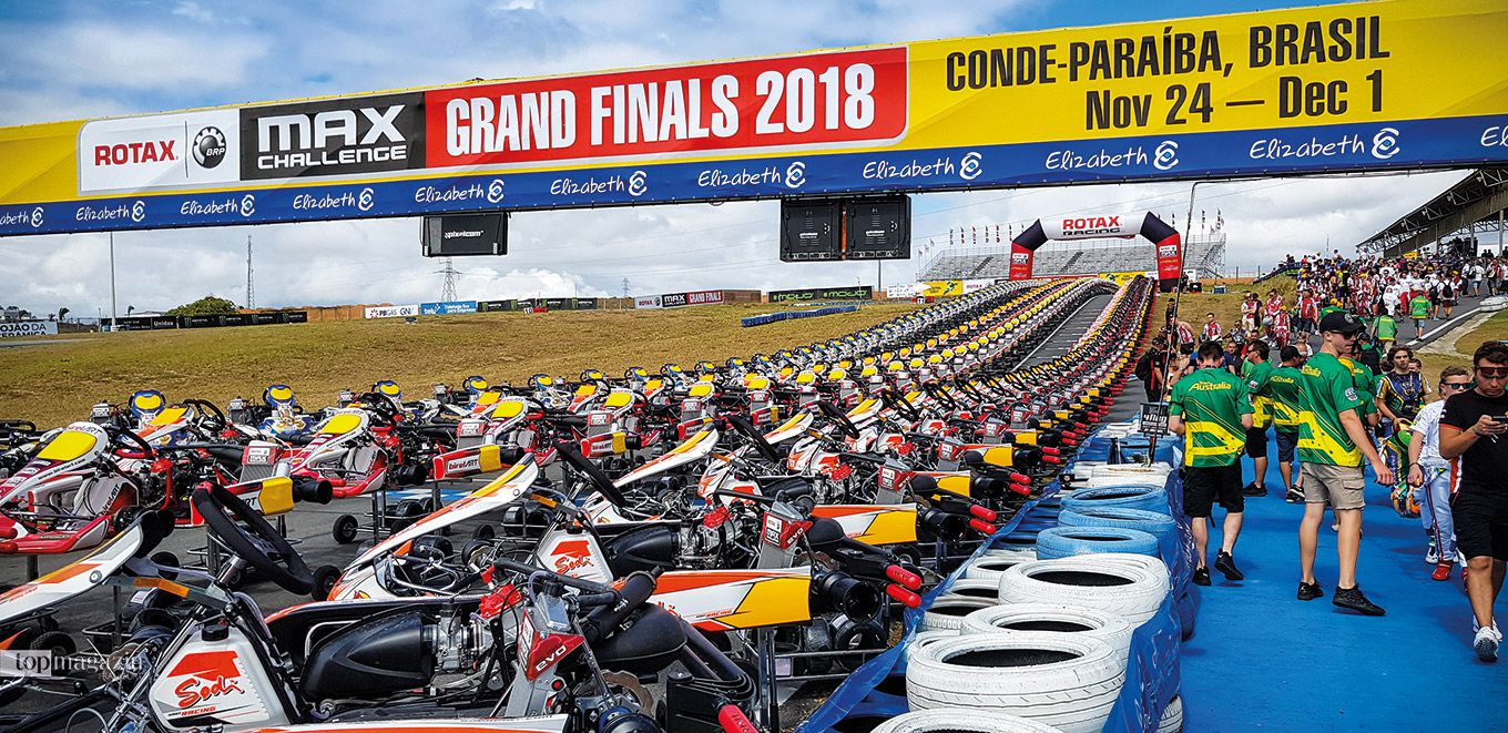 Kart Grand Finals in Conde-Paraíba, Brasilien