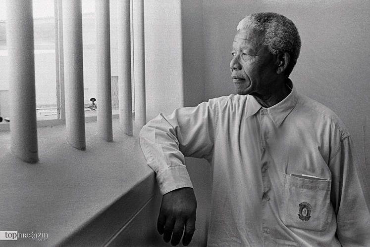 Nelson Mandela – fotografiert von Jürgen Schadeberg