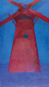 Piet Mondrian – Die Rote Mühle (1911)