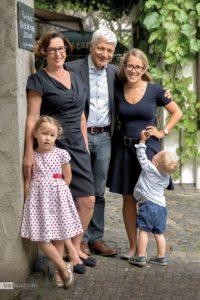 Susanne und Heinrich Breuer mit Tochter Maresa Niete und Enkel Martha & Karl