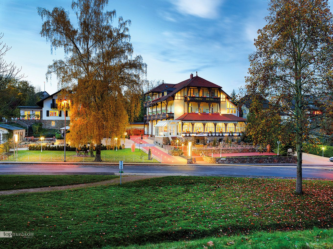 Wellness pur das Parkhotel in Bad Salzig