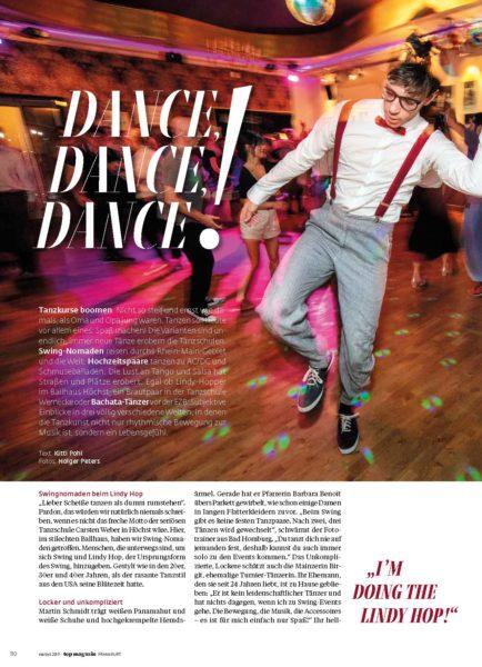 Dance, dance, dance - Tanzschulen boomen