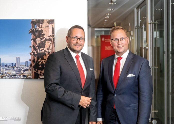 Private Banking-Experten bei der Nassauischen Sparkasse Daniel Heuchele und Stephan Kietzmann