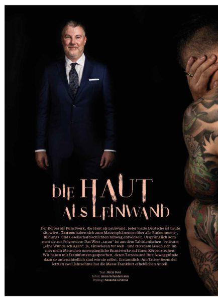Tattoo - Die Haut als Leinwand