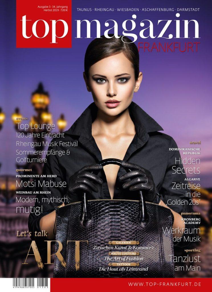 Top Magazin Frankfurt, Ausgabe Herbst 2019