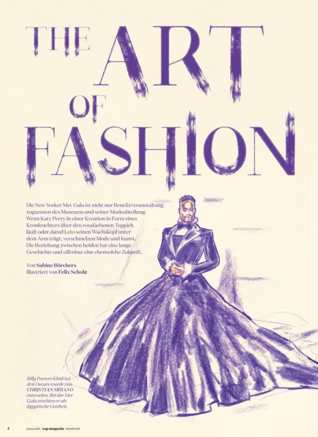 Top Magazin Frankfurt, Ausgabe Herbst 2019, The Art of Fashion