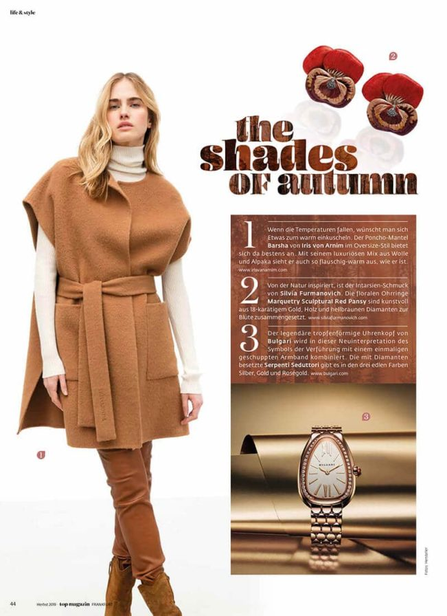 Top Magazin Frankfurt, Ausgabe Herbst 2019, Top Women