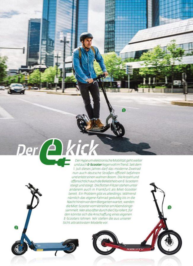 Top Magazin Frankfurt, Ausgabe Herbst 2019, e-scooter