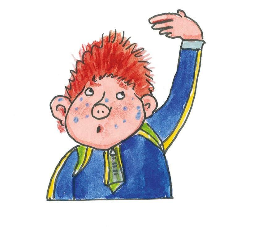 Das Sams ist die Hauptfigur einer neunbändigen Kinderbuchreihe von Paul Maar