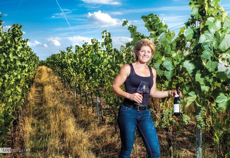 Verena Schöttle vom Weingut Chat Sauvage