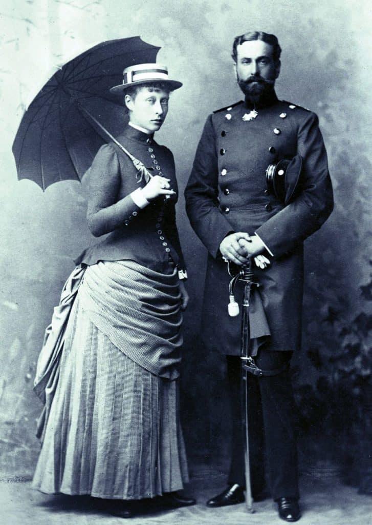 Victoria und Ludwig von Battenberg, die Großeltern des heutigen Prinz Philip von England