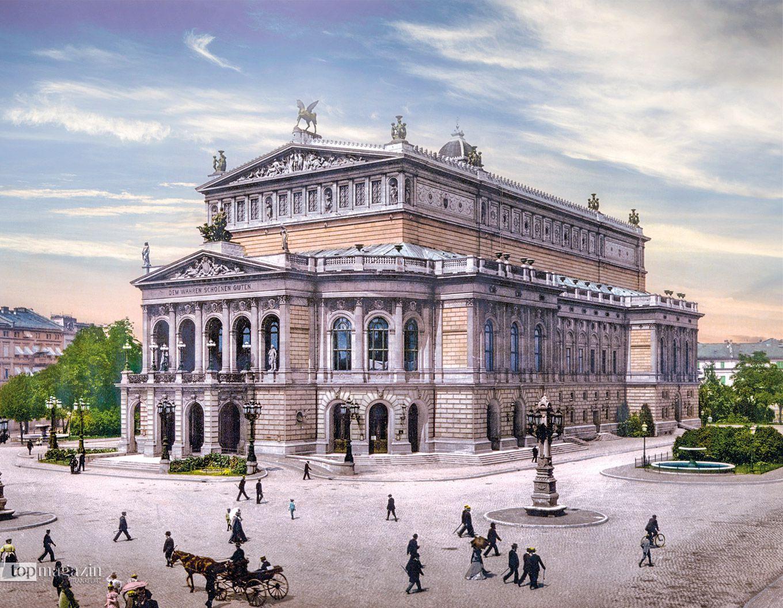 Als die Alte Oper vor knapp 150 Jahren errichtet wurde, kam die Anschubfinanzierung aus der Bürgerschaft