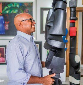 Bildhauer Juan Trinidad