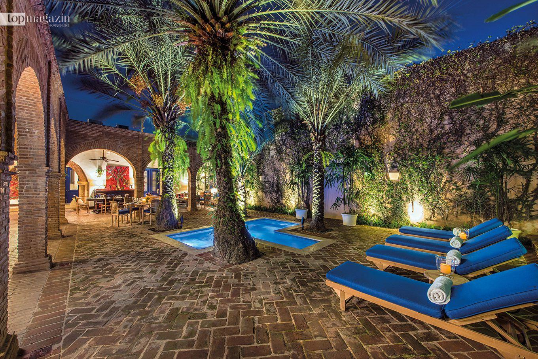 Casas del XVI – Innenhof und privater Pool der Royal Suite