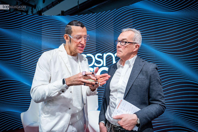 Designer Karim Rashid im Interview mit Top Magazin-Redakteur Thomas Zorn