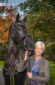 Reit-Legende Ann Kathrin Linsenhoff organisierte das Turnier seit 2003