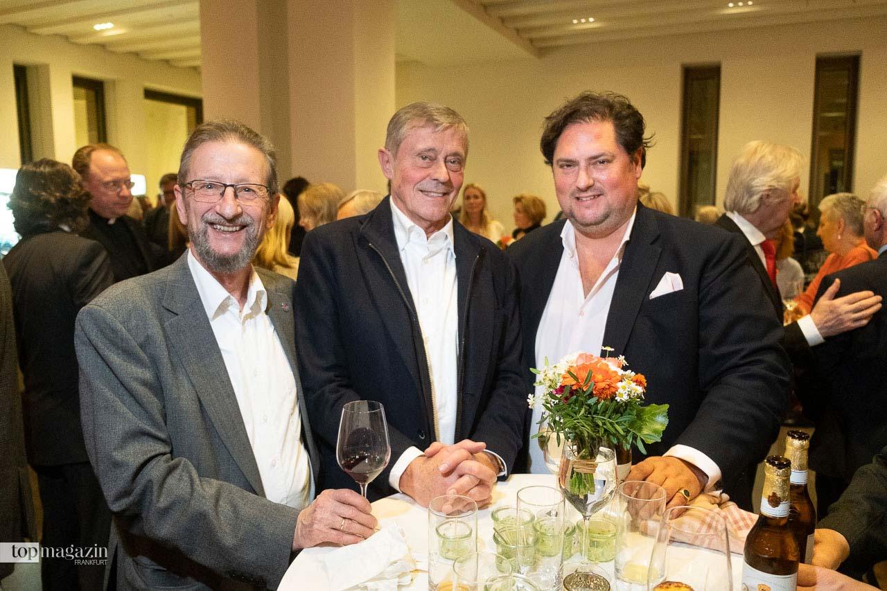 """""""Saubermann"""" Peter Postleb, Michael von Zitzewitz und CDU Stadtverordneter Dr. Stephan Deusinger"""