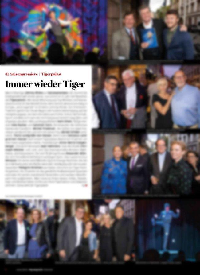 31. Tigerpalast Saisonpremiere