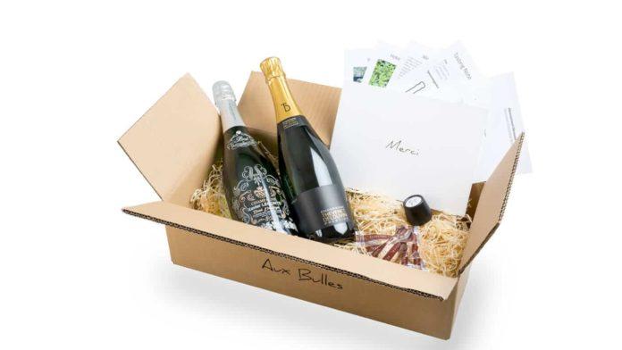 Aux Bulles Champagner-Box