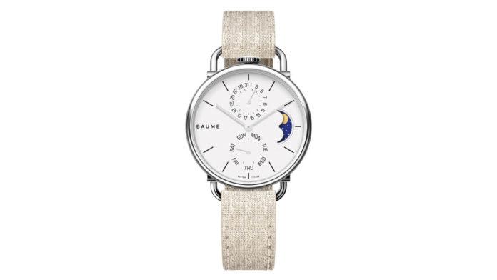 Baume CustomTimepiece Moonphase Watch