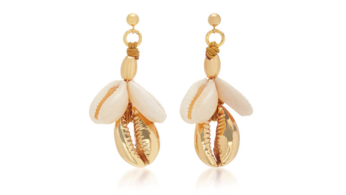 Concha Puka Shell Earrings by Tohum Design
